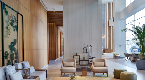 Hilton Garden Inn Kuwait re-opens so we can see the fit-out by Havelock One
