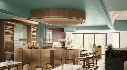 Binchy and Binchy serves up Art Nouveau from Paris' bouillon restaurants at Trouvaille