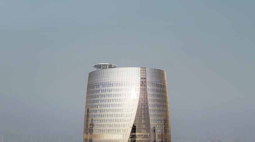 Zaha Hadid Architect' Beijing tower atrium to beat Burj Al Arab as world's tallest