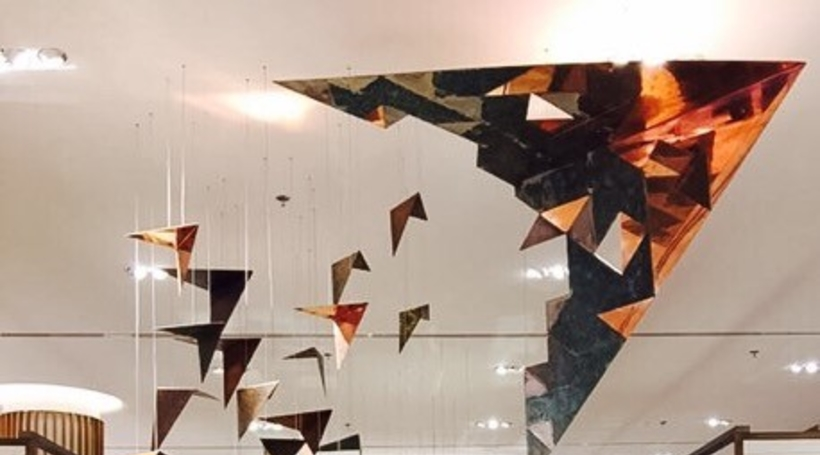 Coalesce designs installation at Robinsons Dubai