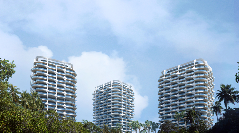 ZHA reveals ecologically-led residential towers in Mexico