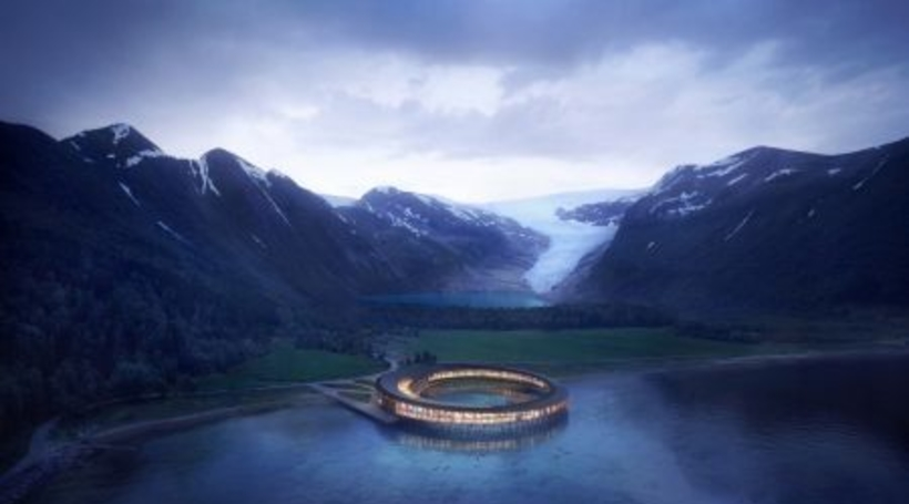 Snohetta to design Arctic Circle's first energy-positive hotel in Norway