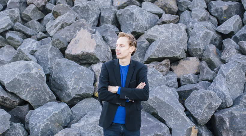 Interview: Daan Roosegaarde discusses his installation, Waterlicht, at the newly opened Jameel Arts Centre