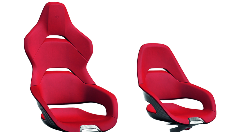 Ferrari collaborates with Poltrona Frau to launch limited-edition leather office chair