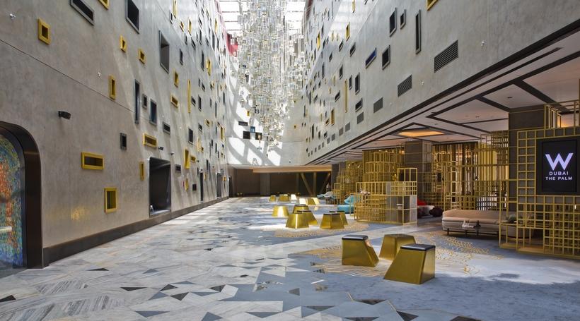 First look inside the W Dubai hotel designed by dwp
