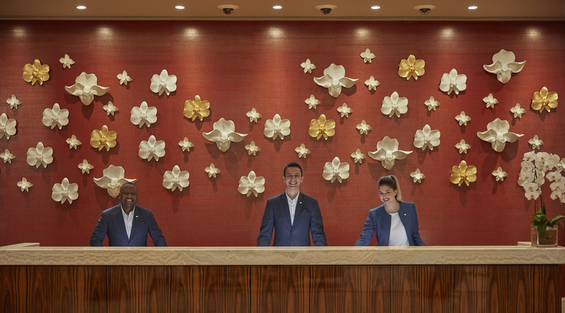 Dubai's Mandarin Oriental hotel offers meeting rooms that support a good cause