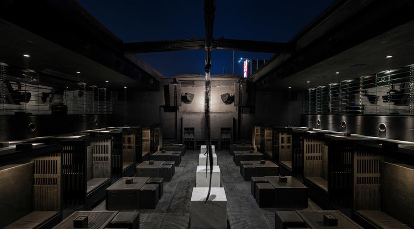 Lebanese architect Bernard Khoury refurbishes Beirut nightclub B018 to include more macabre details