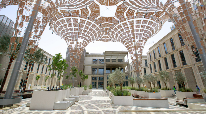 Thematic districts for Expo 2020 Dubai reach completion, awaiting fitout