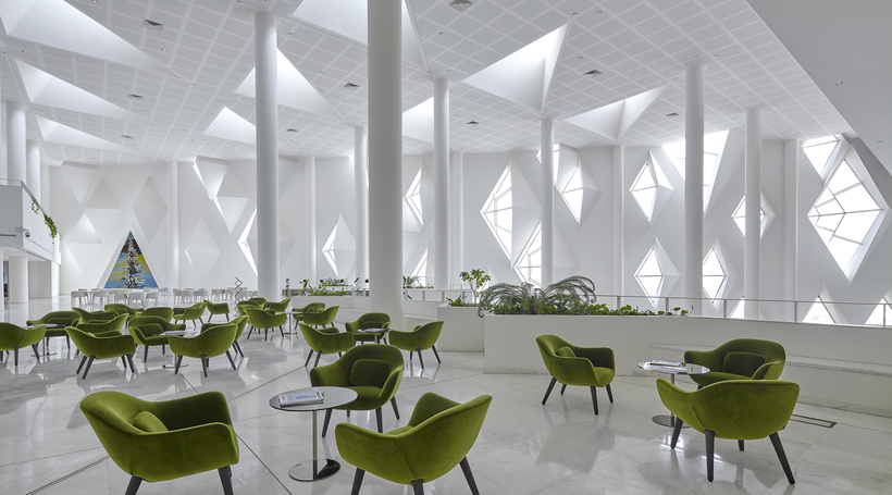 Inside Henning Larsen's Institute of Diplomatic Studies in Riyadh