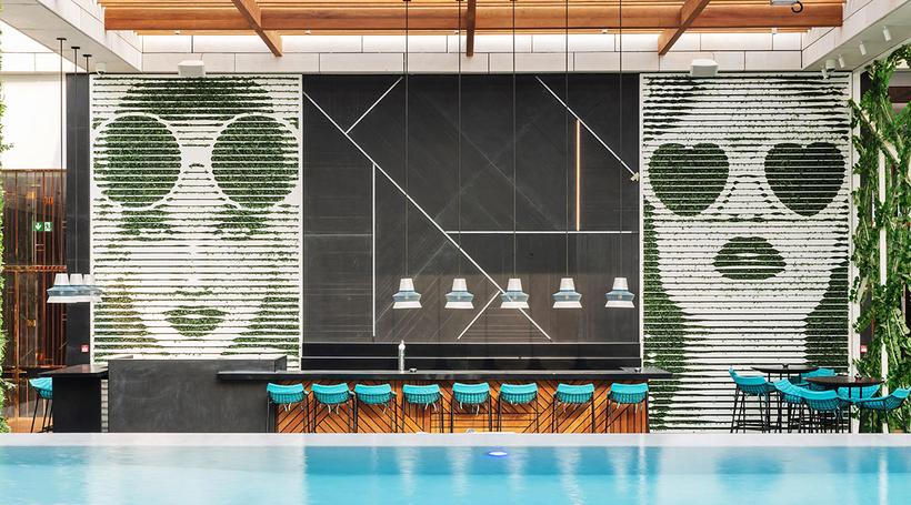 LW-designed Waldorf Astoria DIFC's St. Trop rooftop bar opens