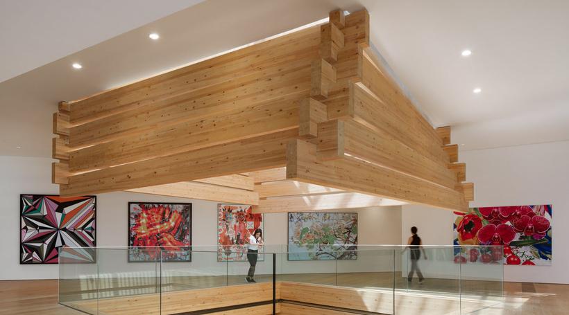 Kengo Kuma's timber art museum opens in Turkey