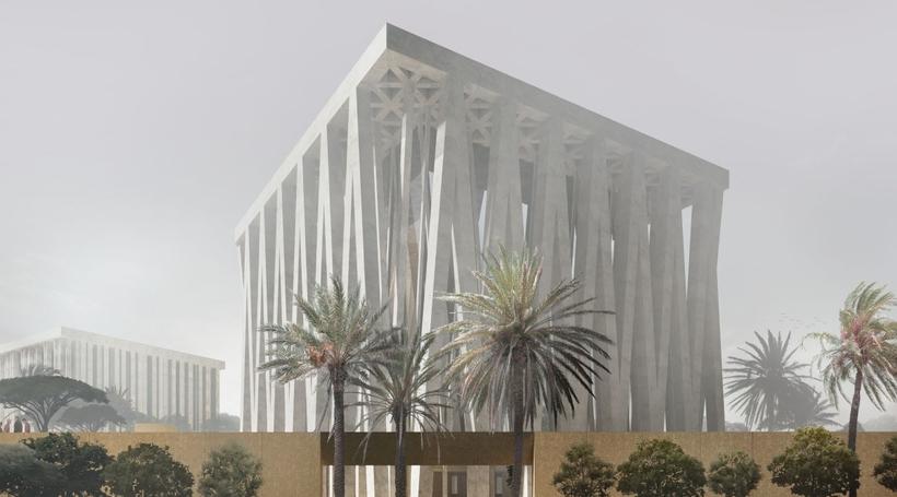 Video by Adjaye Associates reveals Abrahamic Family House on Saadiyat Island in Abu Dhabi