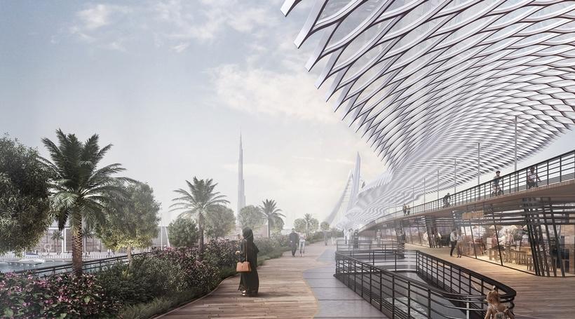 LWK+Partners designs Dubai's Sky Bridge Garden