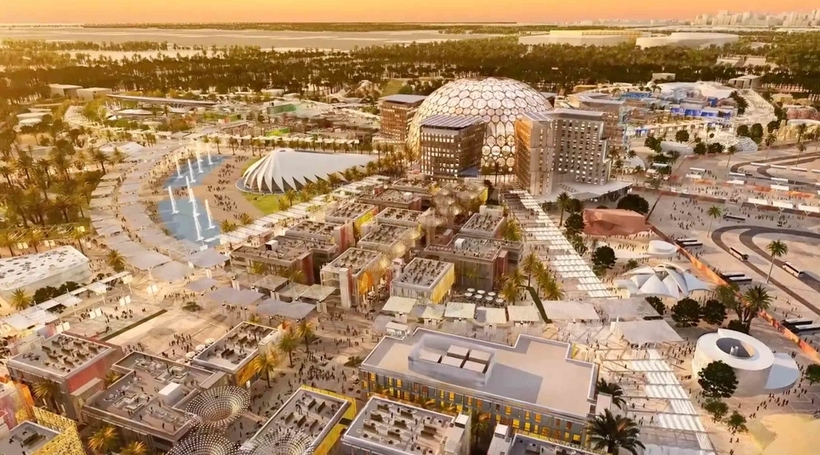 Expo 2020 infrastructure is 100% complete