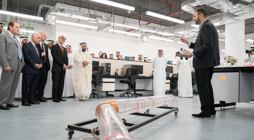 AUS College of Engineering building opens featuring smart classes
