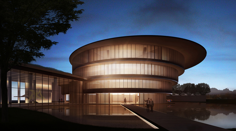 Tadao Ando reveals design for new Chinese museum