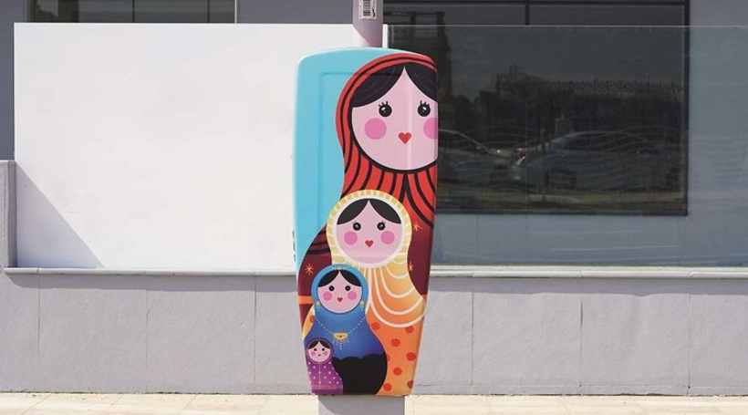 RTA and Brand Dubai give parking meters an arty makeover