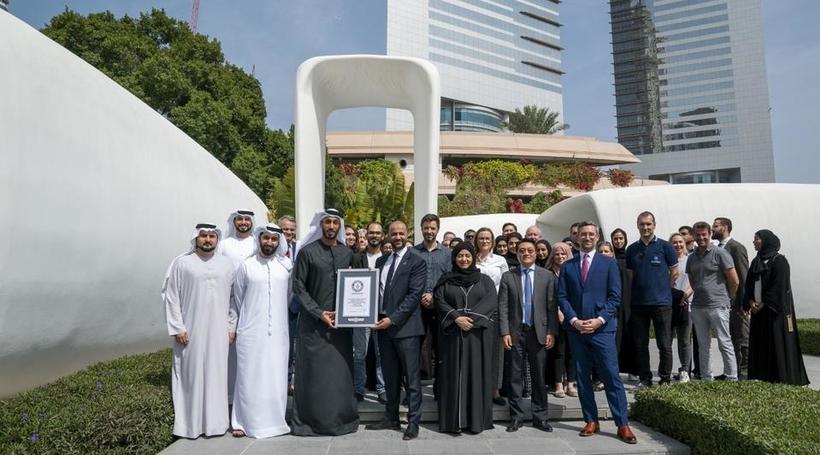 Dubai's 3D printed office earns Guinness world record
