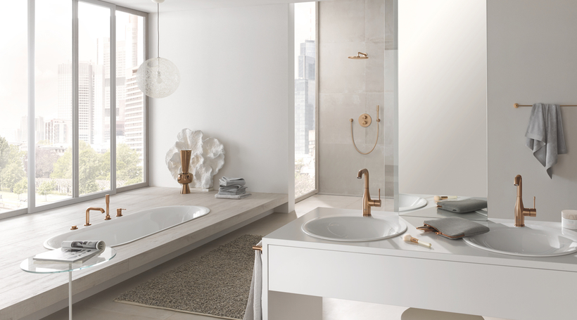 GROHE debuts trend inspired Colours Collection for customised bathrooms