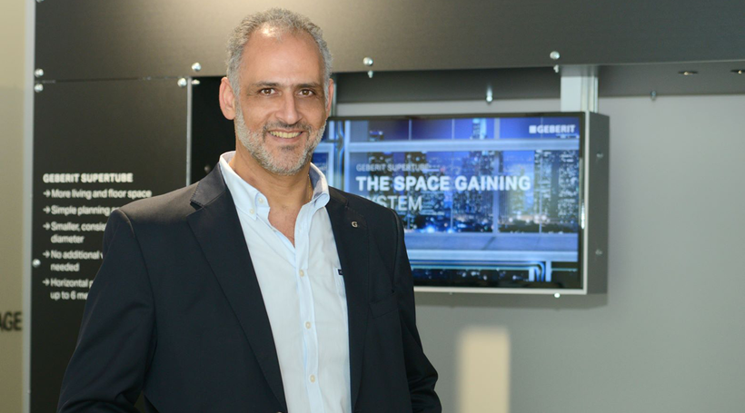 Time for touchless announces Geberit's regional MD Gabriel Nassar