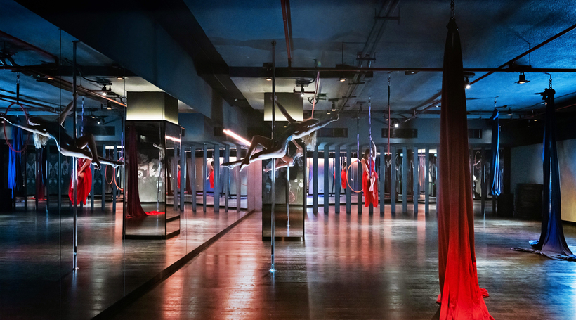 In Pictures: Studio Republik gym in Dubai, by Lulie Fisher Design Studio