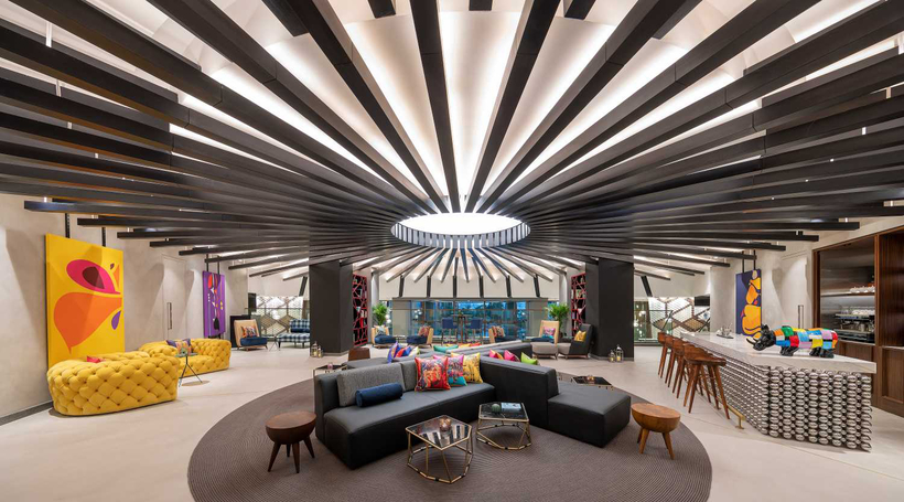 Glintmeijer Design Studio tells us what's surprising about the interiors of Andaz Dubai The Palm