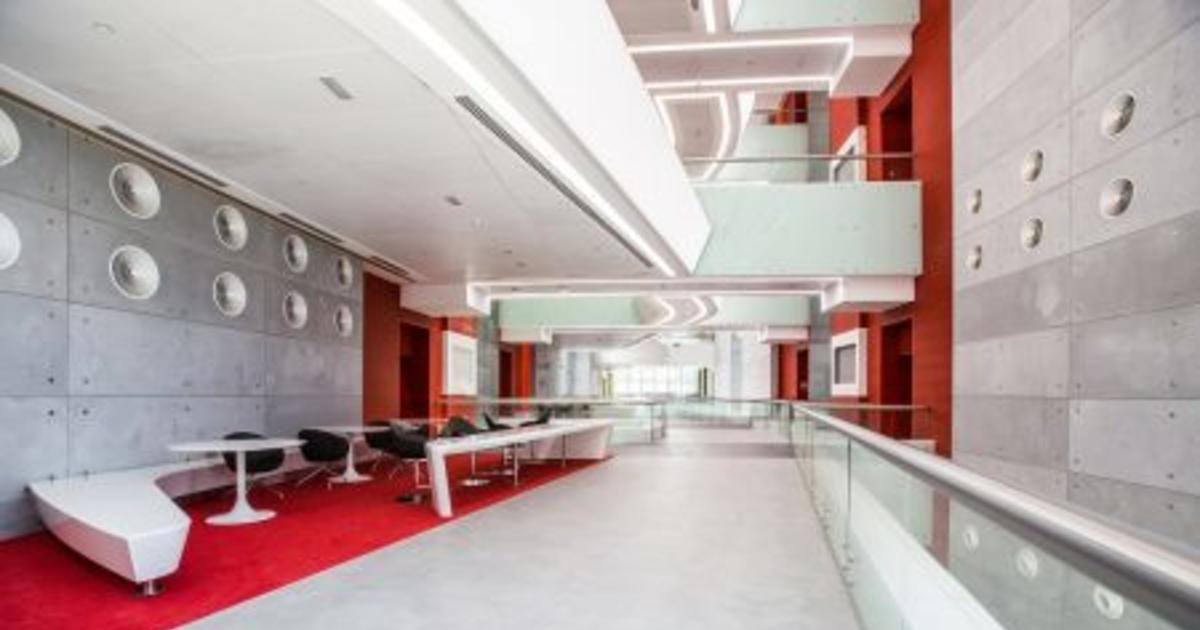 Rsp Completes Extension Of Khalifa University Insight Abu Dhabu Education Design Khalifa University Ralf Steinhauer Rsp Cid