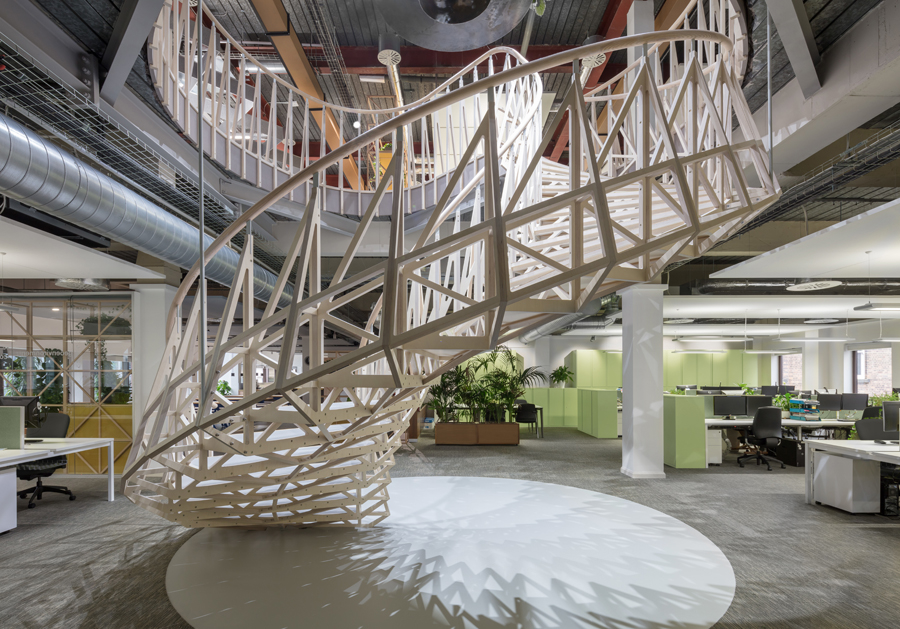 Cundall Champions Recyclable Materials For Office Design Insight Cundall Sustainable Office Recycled Design Cid