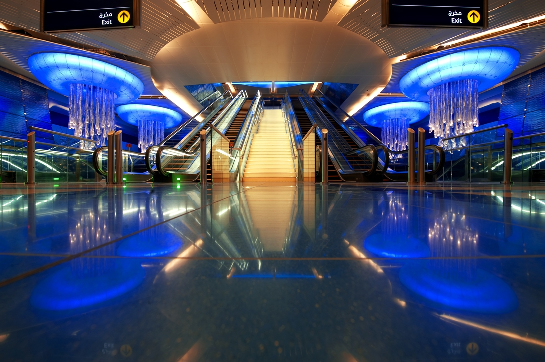 One of the first stations of the Dubai Metro, BurJuman opened as Khalid Bin Al Waleed