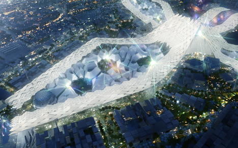In pictures: HOK's master plan for Expo 2020