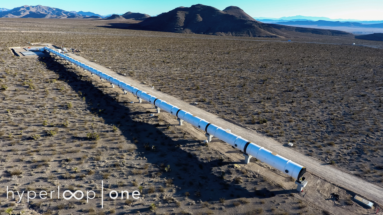 Bjarke Ingels, Devloop, High-speed transport, Hyper Loop Once in Nevada desert, Hyperloop, Hyperloop One, Hyperloop testing, Middle East Rail, Nevada desert, Rob Lloyd, RTA