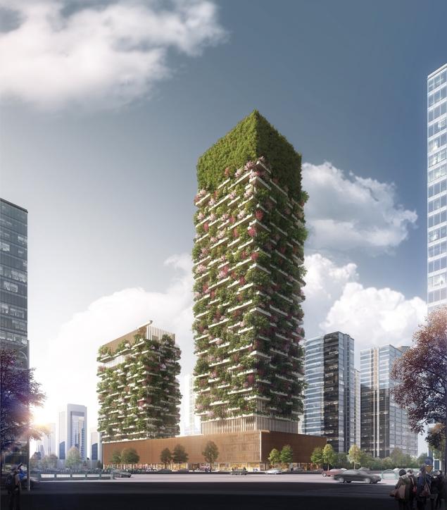 Bosco Verticale, China, Eco-design, Environment, Green building, Nanjing, Stefano Boeri, Tongji University, Vertical Forest