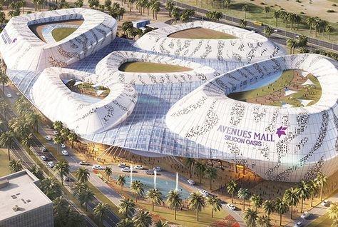Architecture news, Avenues Mall, Design International, Design news, Dubai design news, Dubai Mall, Dubai Silicon Oasis, Futuristic facade, Lulu Group, Mall design, Retail, Retail architecture, Shopping malls, Silicon Oasis mall