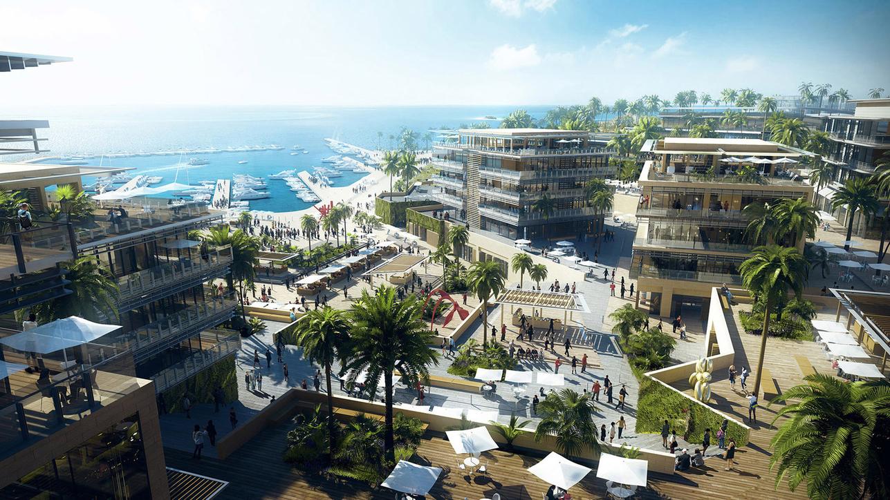 10 Design, Architecture, Egypt, INERTIA, Jefaira Seafront Development, Masterplan