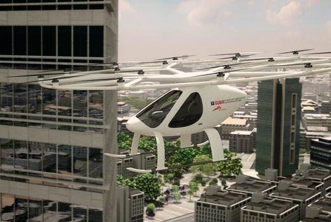 AAT, Air taxi Dubai, Autonomous Air Taxis, Dubai, RTA, Velocopter