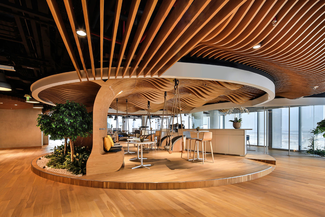 D3, Design, Design World Partnership, Dubai Design District, Dubai interiors, Dwp, Interior design, Interiors, LEED, LEED Gold, Office Interiors, Smart Dubai Office, Summertown Interiors