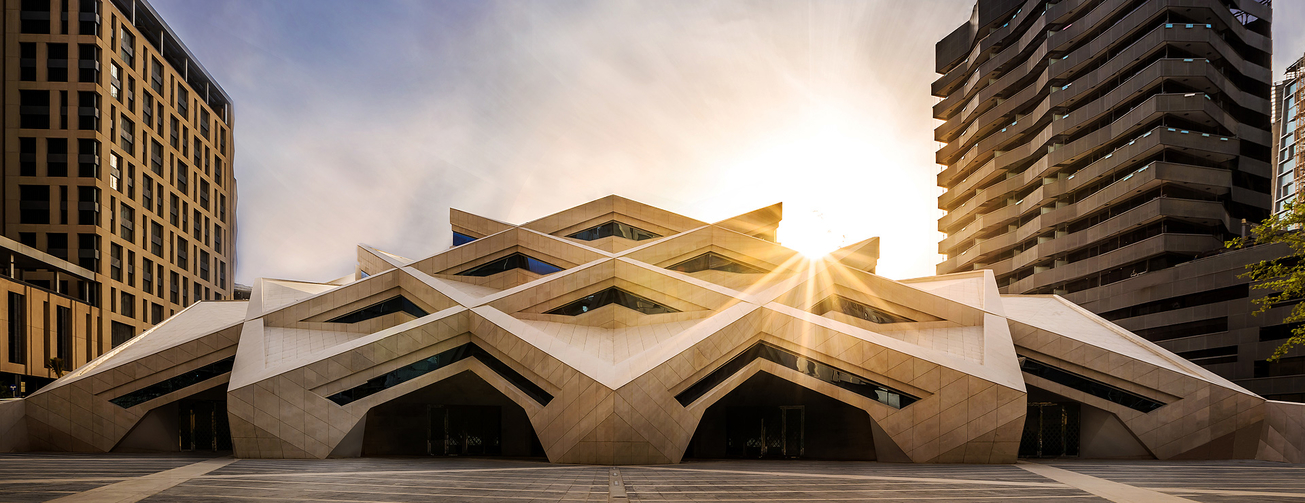 Architecture, KAFD Grand Mosque, Middle East, Mosque design, Omrania, Riyadh, Saudi Arabia, WAF 2017, World Architecture Festival, World Architecture Festival shortlist Middle East