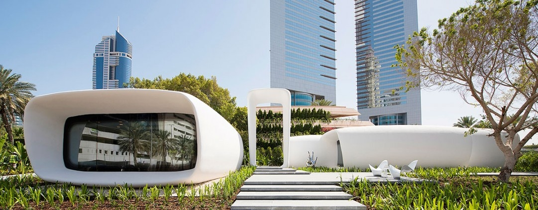 3D printing, 3D printing architecture, 3D printing construction, Dubai architecture, Killa Design, Office of the Future