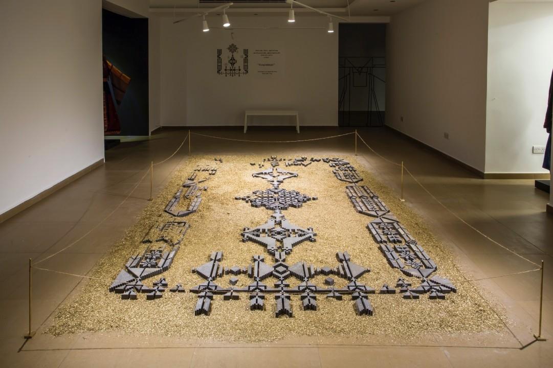 Amman, Amman design, Design, Embroidery, Jordan, Middle East design, Naqsh Collective, Naqsh Collective exhibition, Palestine, Palestine heritage