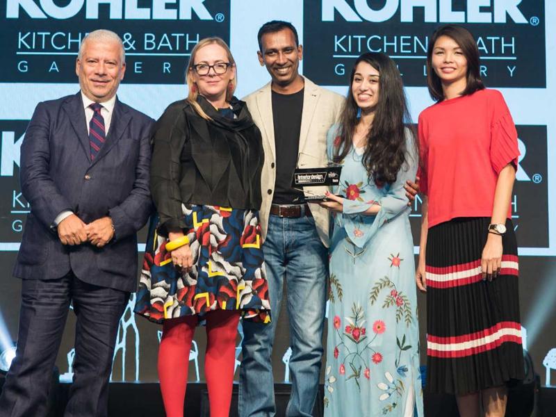 CID Awards 2017, Kohler, Lulie Fisher Design Studio
