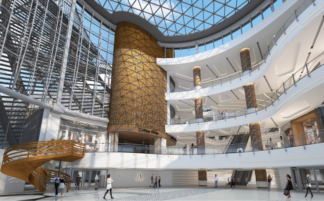 Albanos, Art of Living Mall, Dubai, Fit out contractors, Inteor fit out, Interior design