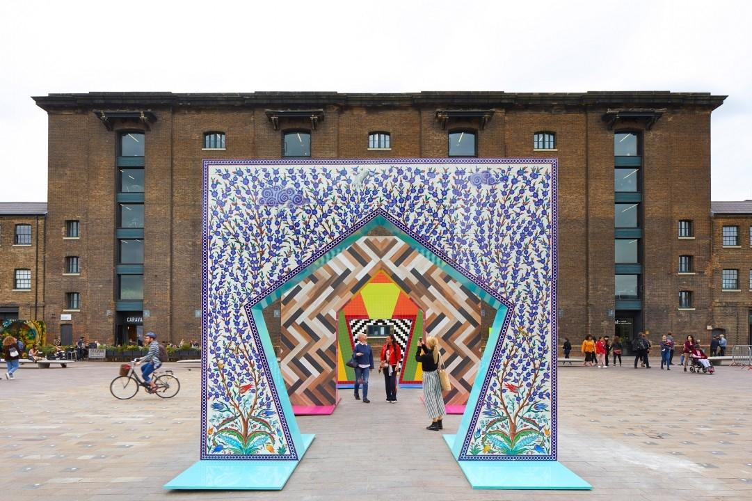 Adam Nathaniel Furman, Ceramic tiles, Ceramics, Design, Installation, London, London Design Festival, Tiles, Turkishceramics