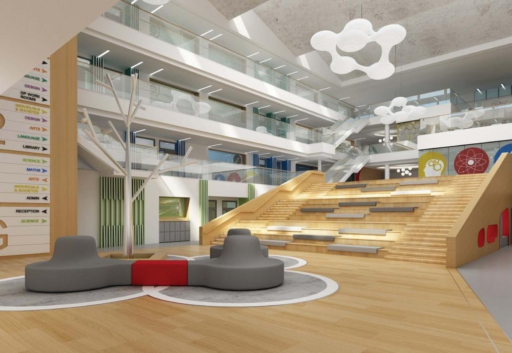 Education design, Godwin Austen Johnson, Khalifa university, Pallavi Dean Interiors, RSP, U+A Architects