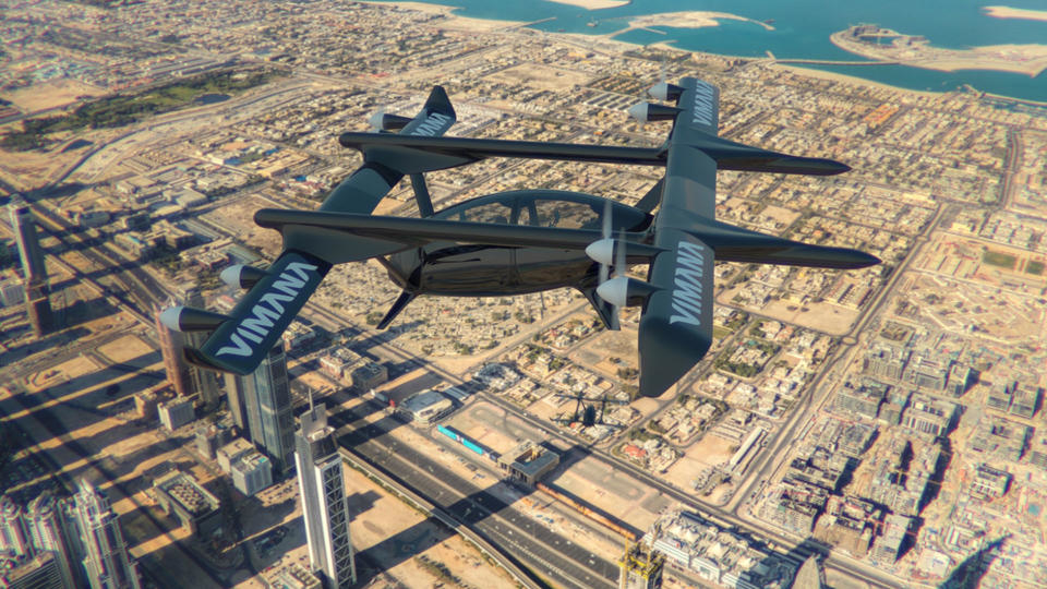 Driverless cars, Drones, Dubai, Flying taxis, Technology, United Arab Emirates, Vimana