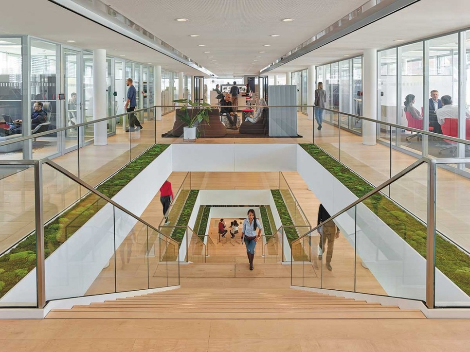 Henn Architects, Interior design, Munich, Office design, Steelcase, Steelcase Learning and Education Centre