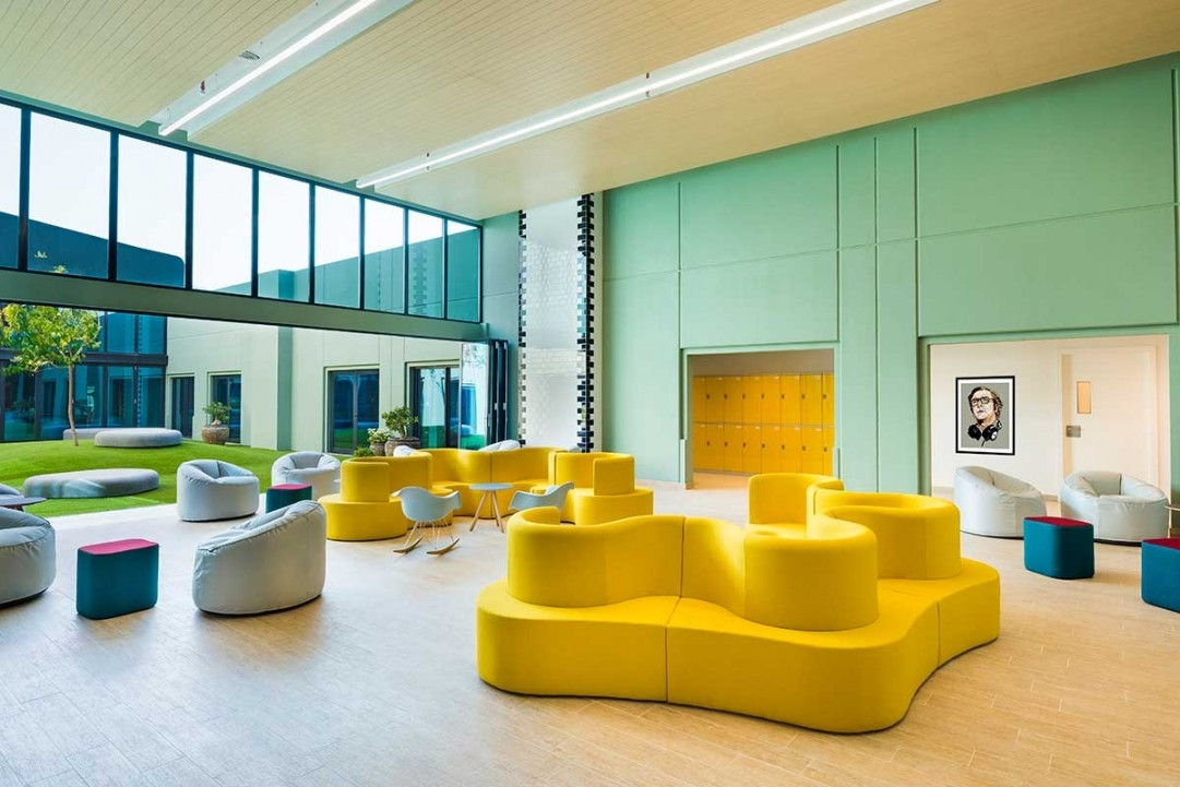 Dubai schools, Education design, Interior design, Lulie Fisher