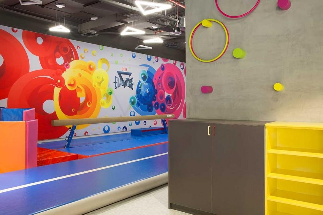 Fitness space design, Little Gladiators, Veena Kanchan, VS Design Studio