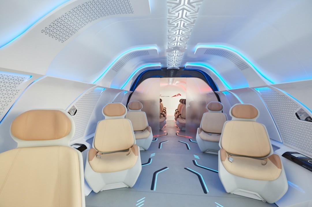 Dubai, Hyperloop, Interiors, RTA, Virgin Hyperloop One