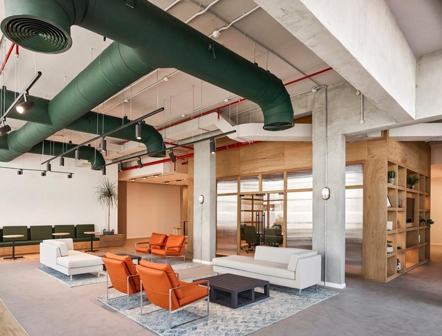 Industrial, Interior design, Interiors, Polycarbonate, Swiss Bureau