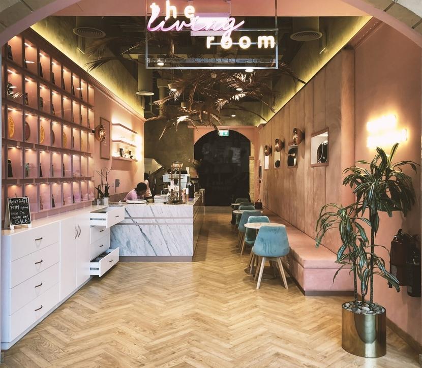 Food and beverage design, Key Concept, Retail design, The Living Room